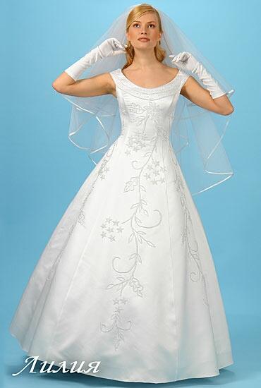 образ невесты длинные волосы